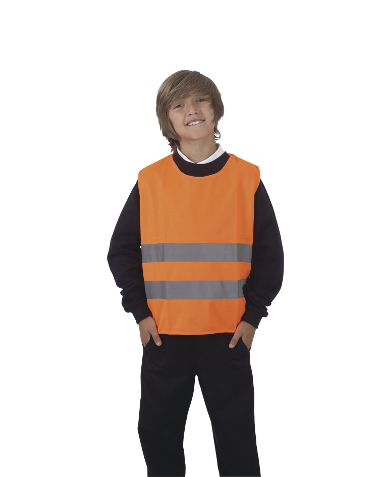 Yoko Hi-Vis Childrens Tabard One Size Hi Vis Orange