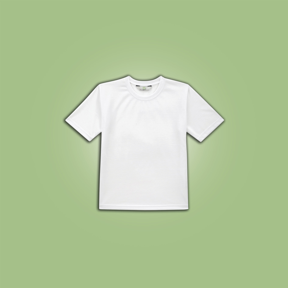 Xpres Childrens Subli Plus T-Shirt 12 years White